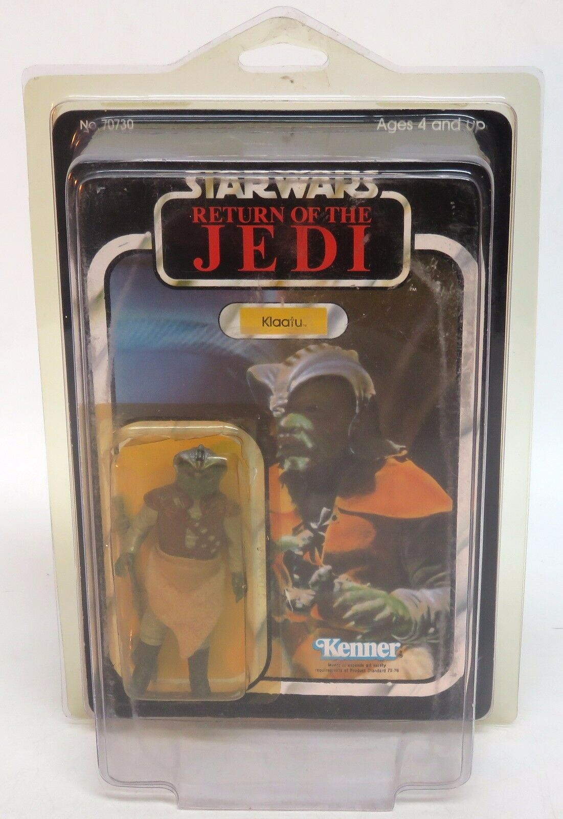 Original Star Wars Return of the Jedi - Klaatu Action Figure 1983