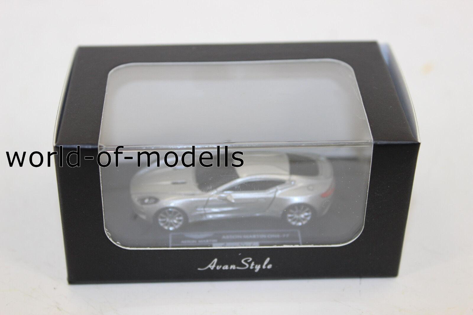 Frontikonst HO 05 Aston Mkonstin One 77 silver 1 87 H0 NEU i OVP limiert