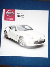 Nissan 370Z brochure Jun 2013