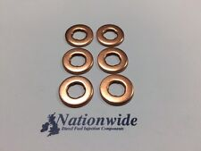 BMW 335 d Coupe 3.0 Common Rail Diesel Injector Washers/Seals x 6