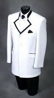 "After Six White ""Celebration"" Tuxedo Jacket-Several Sizes"