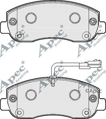 Brand New Apec Front Brake Pad Set PAD1797-12 Months Warranty!