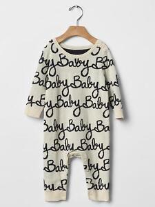6ff197858f9c GAP Baby Boys Girls Size 3-6 Months Ivory Baby Sweater One-Piece ...