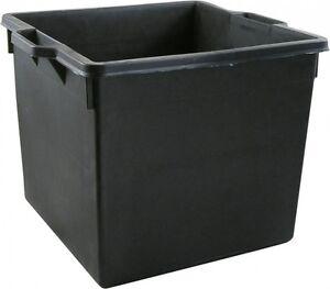 Cassa contenitore vasca per macerie in plastica capacita for Fioriere in plastica rettangolari