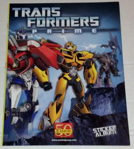 Transformers Prime Album Vuoto Panini