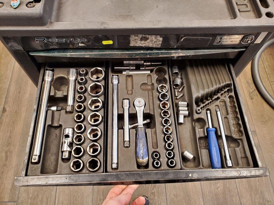 Værktøjsvogn
