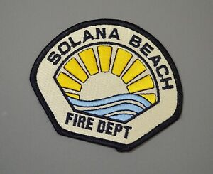 Details about Solana Beach California Fire Dept  Patch ++ San Diego County  CA