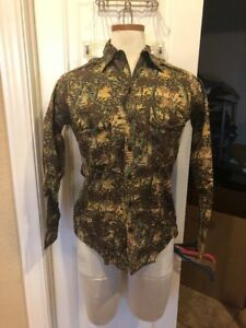 M Tg Caccia Casual Camo Shirt Bushlan Mimetica Pesca Camicia Camouflage qIaXZSx