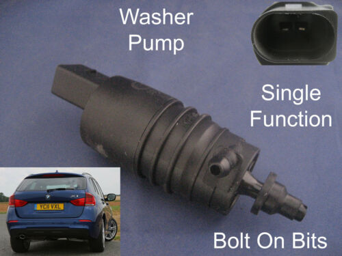 Front or Rear Windscreen Washer Pump BMW X1 2010 2011 2012 2013 2014