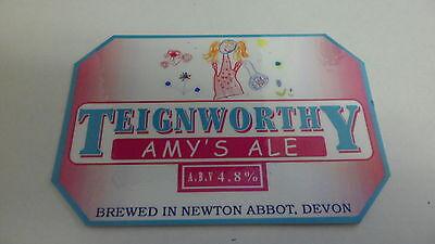 Reklame & Werbung Teignworthy Brewery Amys Ale Bier Pumpe Clip 22 Elegant Im Geruch