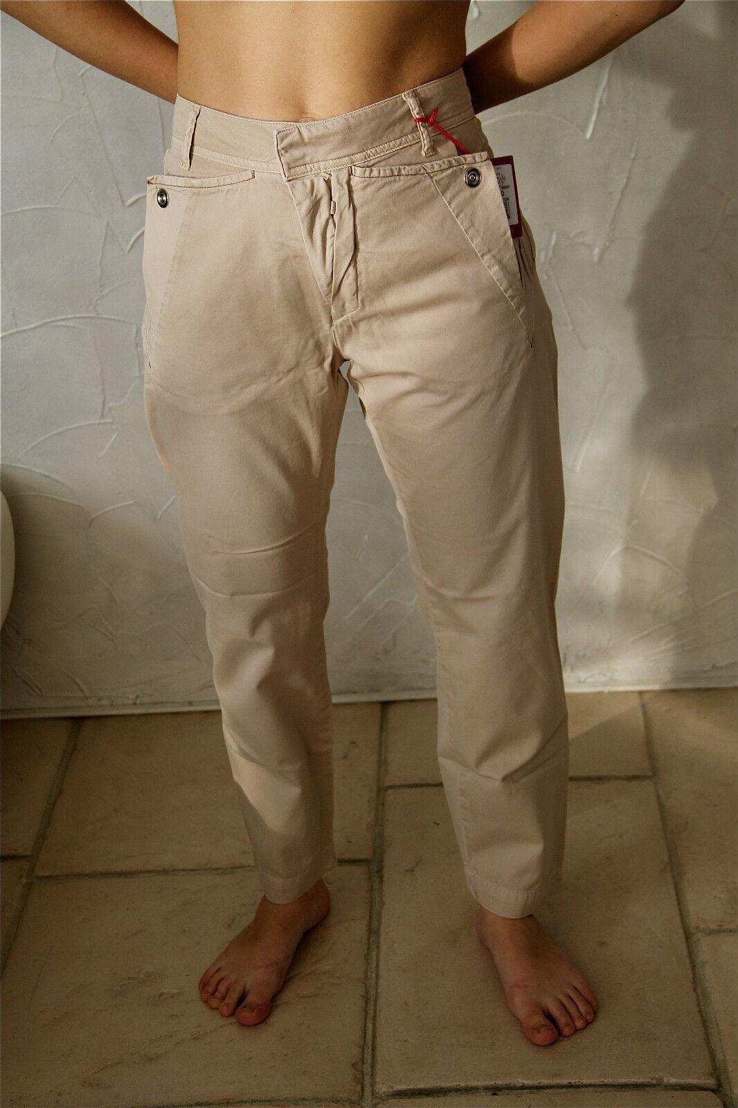Trousers pantalon safari trek M&F GIRBAUD scoutool T 36 (26) NEUF ÉTIQUETTE