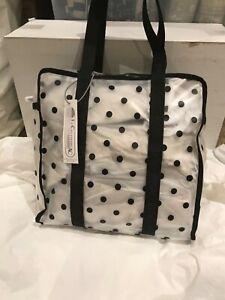 LeSportsac Everyday Medium Tote Bag Multi Color Polka Dot. NWT Fast shipping!