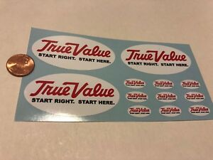 TRUE-VALUE-TOY-TRUCK-LOGO-DECALS-DIE-CUT