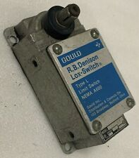 Electrical Limit Switch Gould Rb Denison Lox Switch L300 Ws Side Rotary Actuator