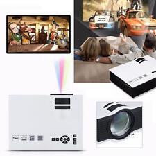 2000lumens 1080P HD LED Mini Casa Proyector Multimedia VGA HDMI Play USB SD 2016