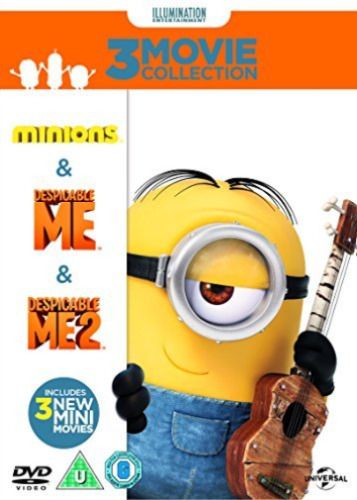 1 of 1 - Despicable Me/Despicable Me 2/Minions  DVD NEW