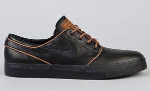 dbd6729ff737 NEW 2012 Nike SB Stefan Janoski Premium Leather Black Pecan 482972 ...