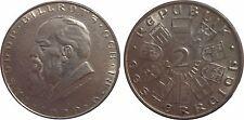 AUT KM 2844  2 Schilling Theodor Bilroth 1929  in STG-