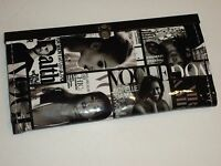Magazine Picture Collage Clutch Wallet, Black & White