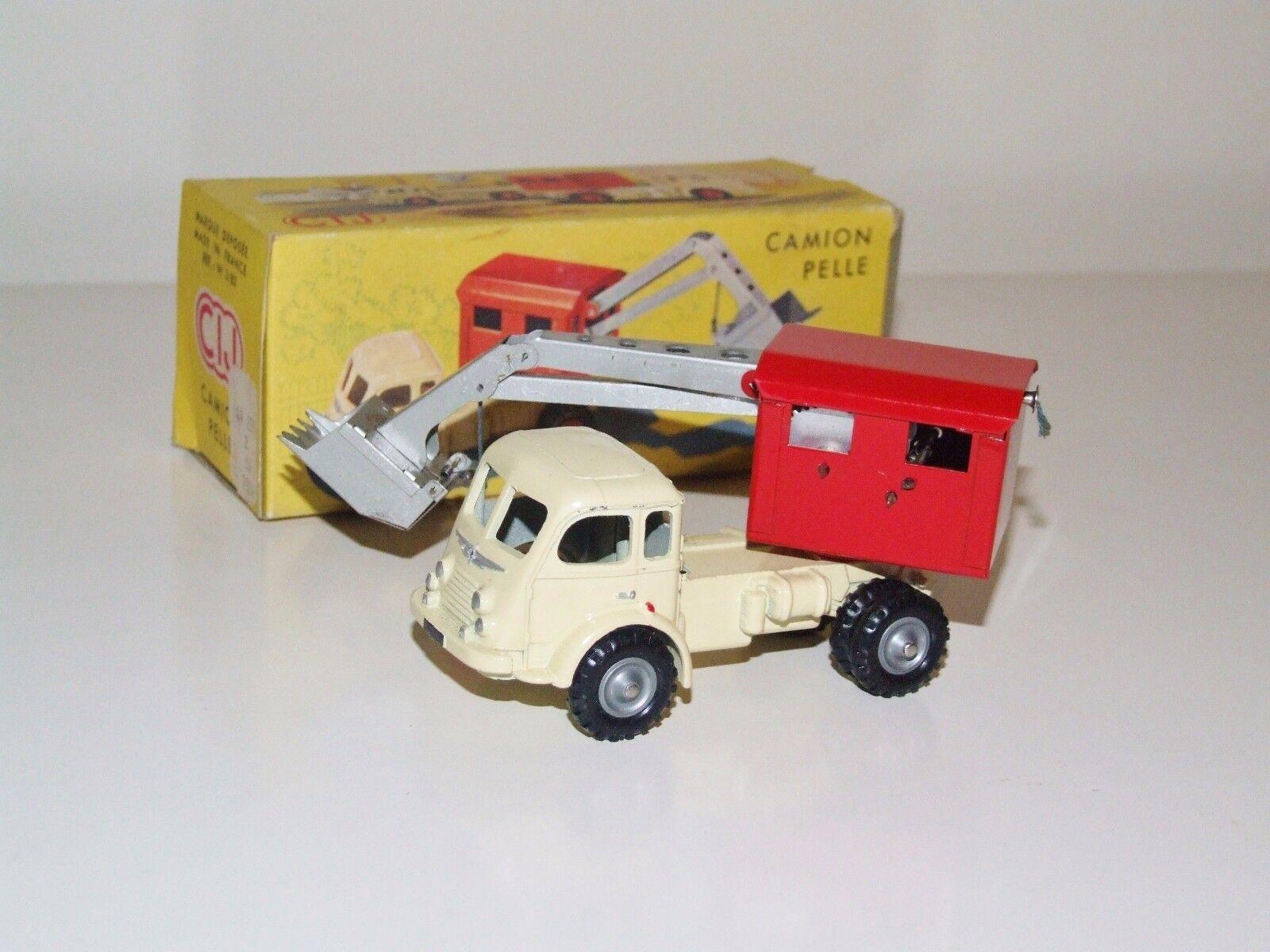 CIJ 3 82 Camion Pelle- RARE