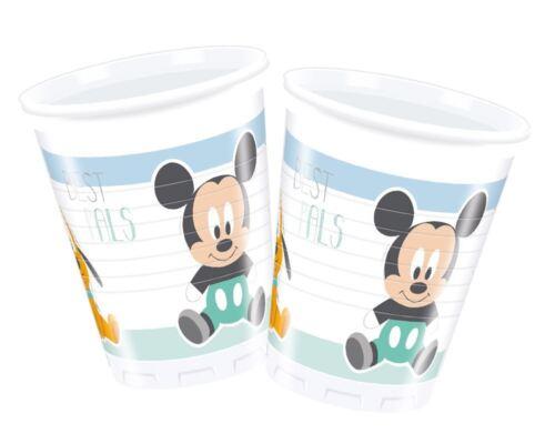 Infant Mickey Tableware Children/'s Birthday Party Baby Shower