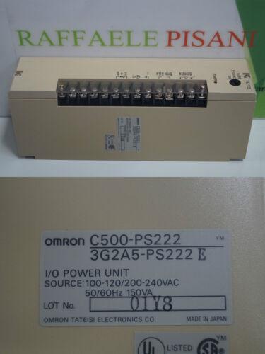 Omron c500-ps222 3g2a5-ps222 e