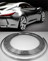Micro Chrome Trim Molding Strip Interior Car Styling 4mm Wide Universal