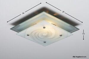 Lampadario Da Ingresso : Lampadario da ingresso plafoniera design lampada da soffitto vetro