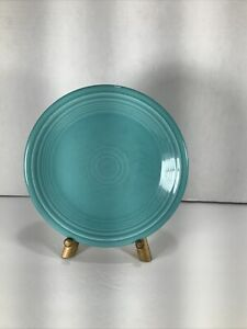 Fiesta-ware-Homer-Laughlin-China-7-Side-Salad-Plate-Turquoise-Blue