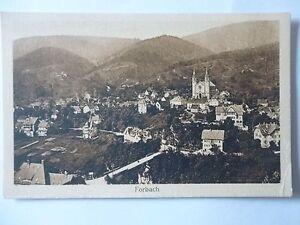Ansichtskarte-Forbach-1910
