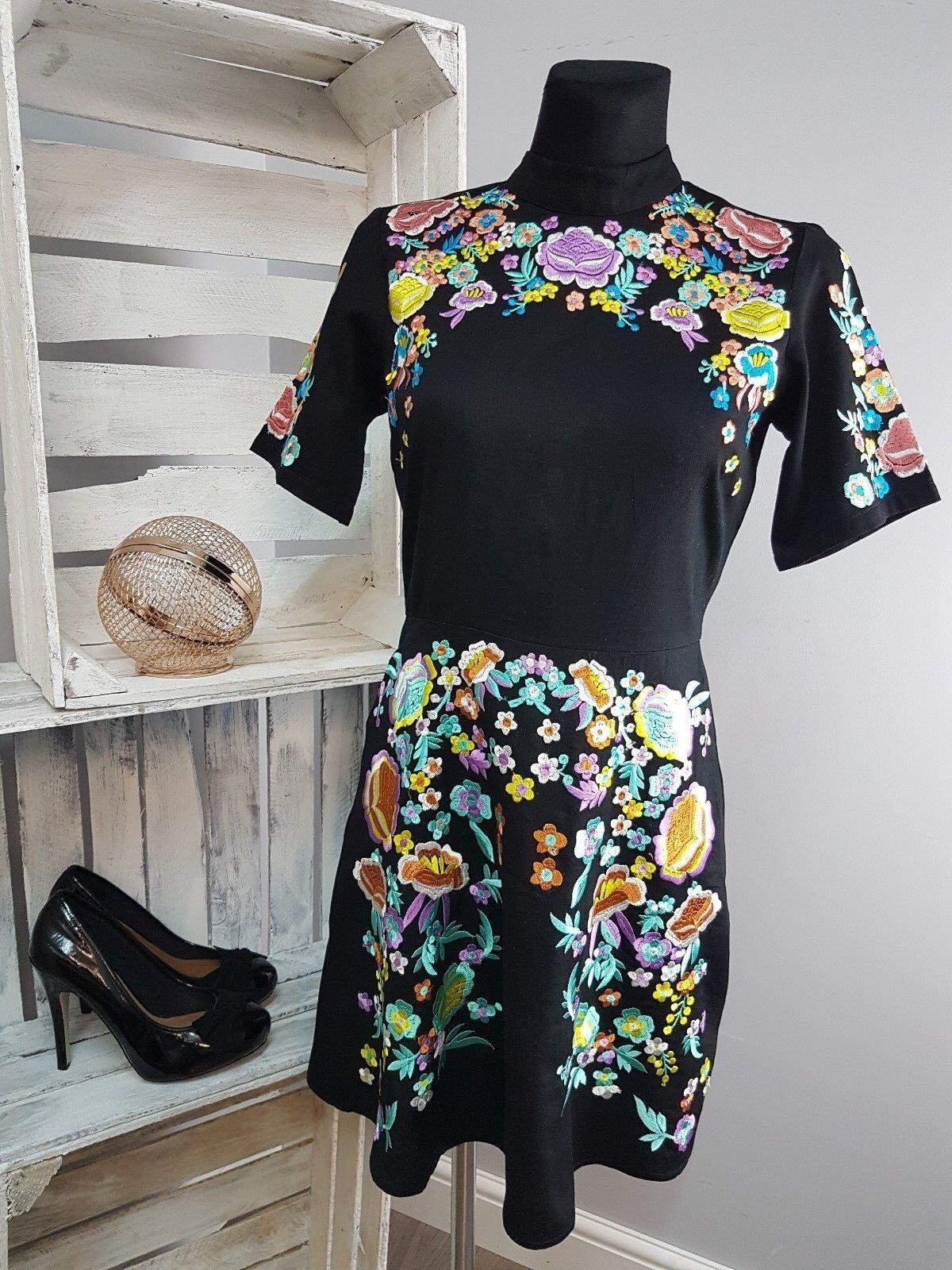 ASOS PREMIUM Mini Embroidered Dress (AS45 29)