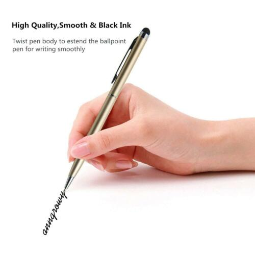 Touch Screen Pen For Tablets//Smartphones 10 Pack 2-in-1 Ballpoint pen + Stylus
