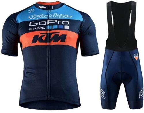 Mens Cycling Jersey Short Bicycle Bike MTB Shirt Team Clothing Top KTM Motocross
