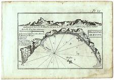 Carte ancienne ROUX antique map MÉDITERRANÉE c1790 ZANTE Zakynthos Grèce 89