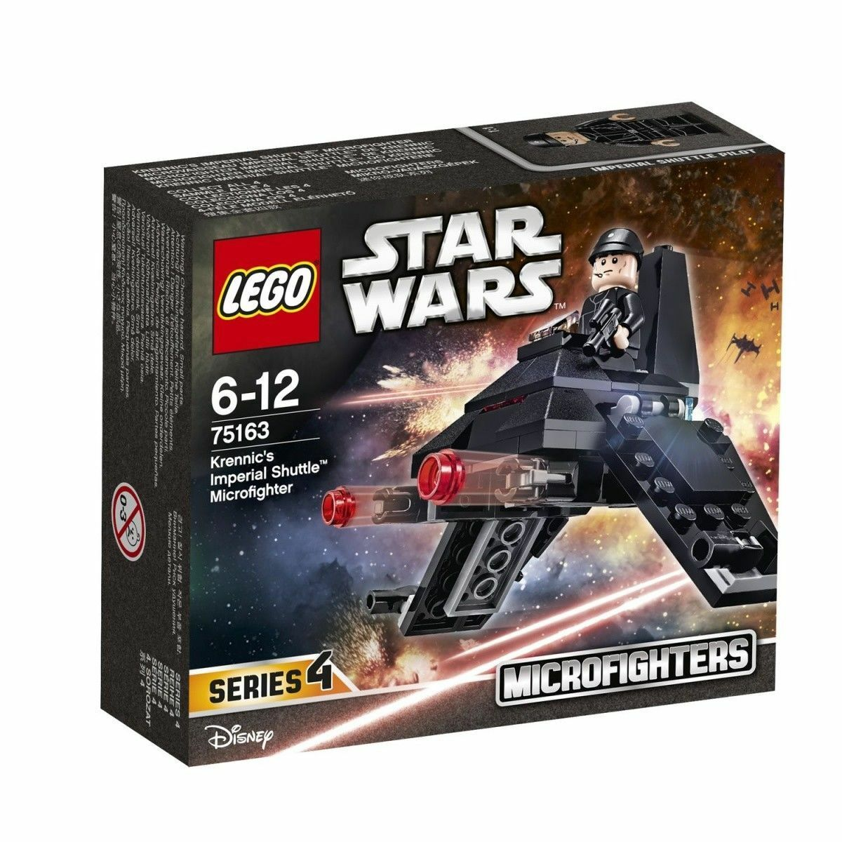 LEGO® STAR KRENNIC'S WARS™ Microfighters - KRENNIC'S STAR IMPERIAL SHUTTLE™ - 75163 - NEU 8874d4