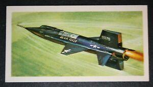 USAF  North American X-15       Illustrated  Card  VGC