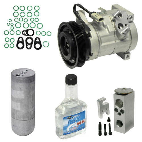 A//C Compressor /& Component Kit-Compressor Replacement Kit Front UAC KT 4025