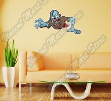 "Warning Zombie Outbreak Monster Wall Sticker Room Interior Decor 25""X14"""
