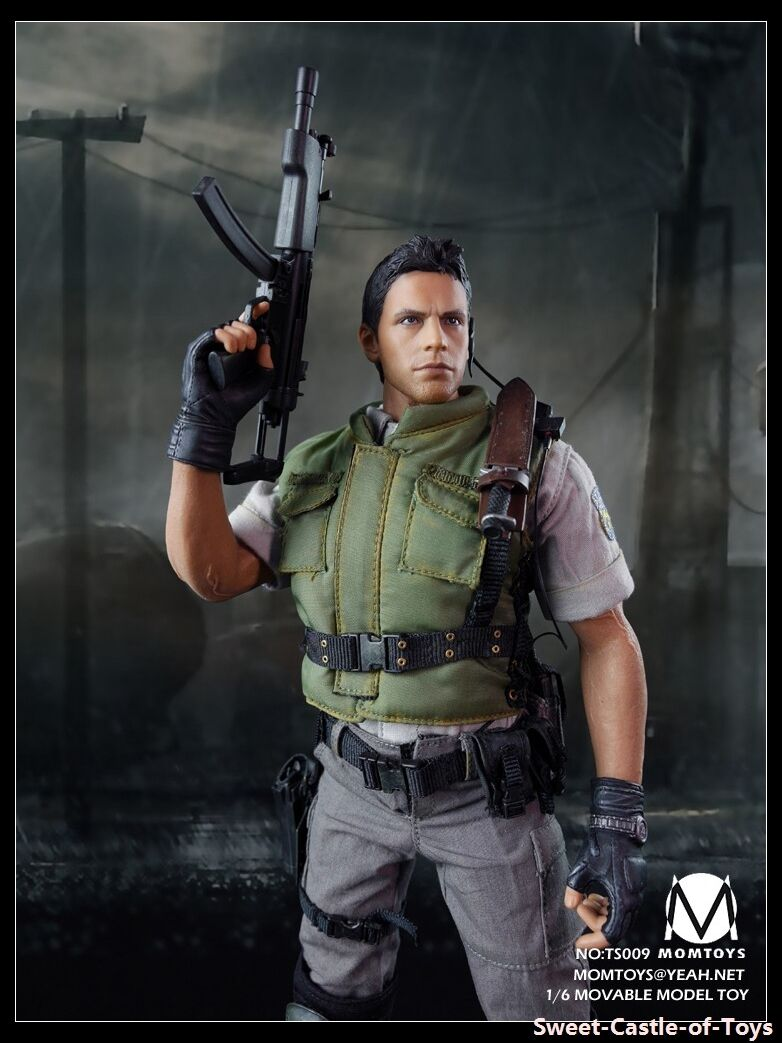 1 6 Momtoy Action Figure Biohazard Resident Evil Chris Redfield Redfield Redfield S.T.A.R.S Alpha 547cec
