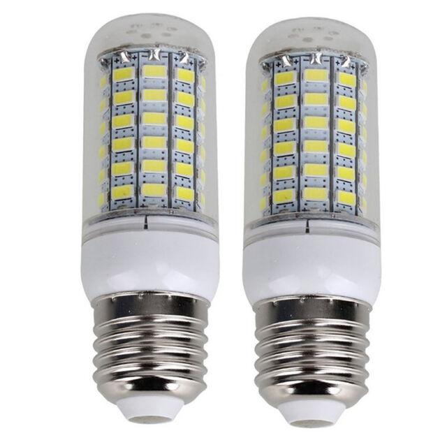 2 Stk Energiesparlampe E27 220V 69 SMD 5730 1500LM 6000-6500K LED Mais Lichte JL