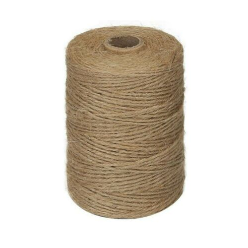Jute Twine Natural 2mm x 100ft Bulk 3 Ply