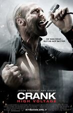 Crank movie poster (a) 11 x 17 inches - Jason Statham poster