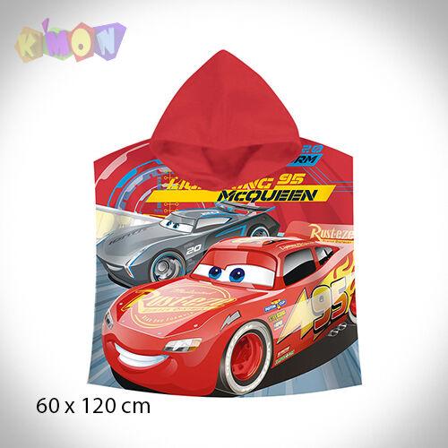 9452 Poncho Toalla Cars Disney McQueen algodon