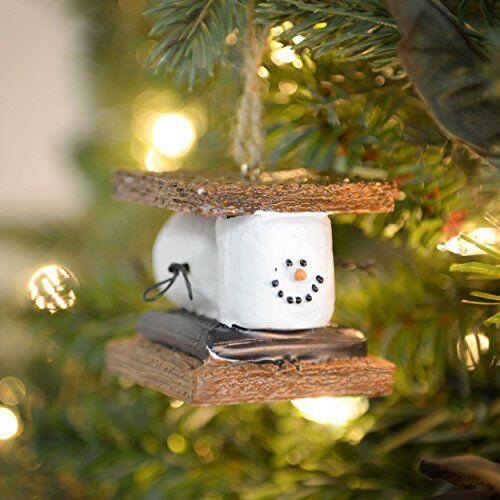 Marshmallow S'mores Sandwich Christmas Ornament | eBay