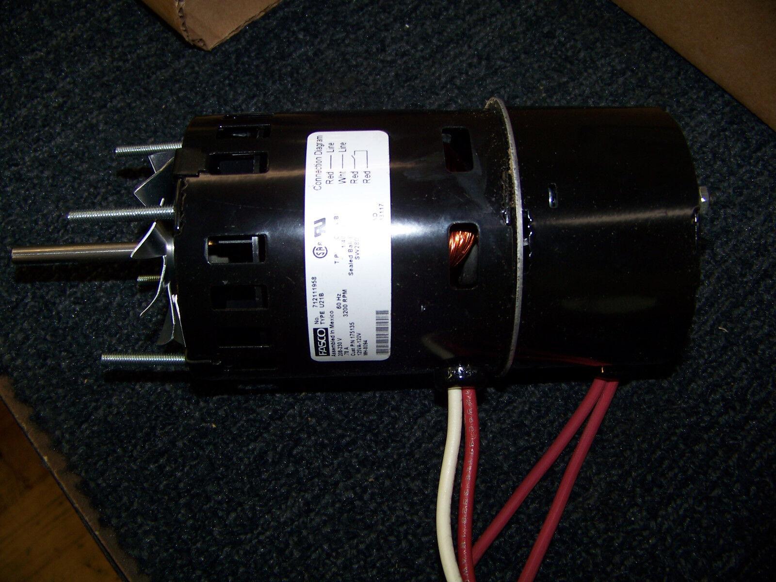Furnace Inducer Motor On Fasco Fan And Blower Motor Wiring Diagram