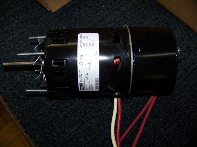 Fasco Motor 208-230 V 60 Hz 1/40 HP 3200 RPM Type U21B 125VA-120V 1 on