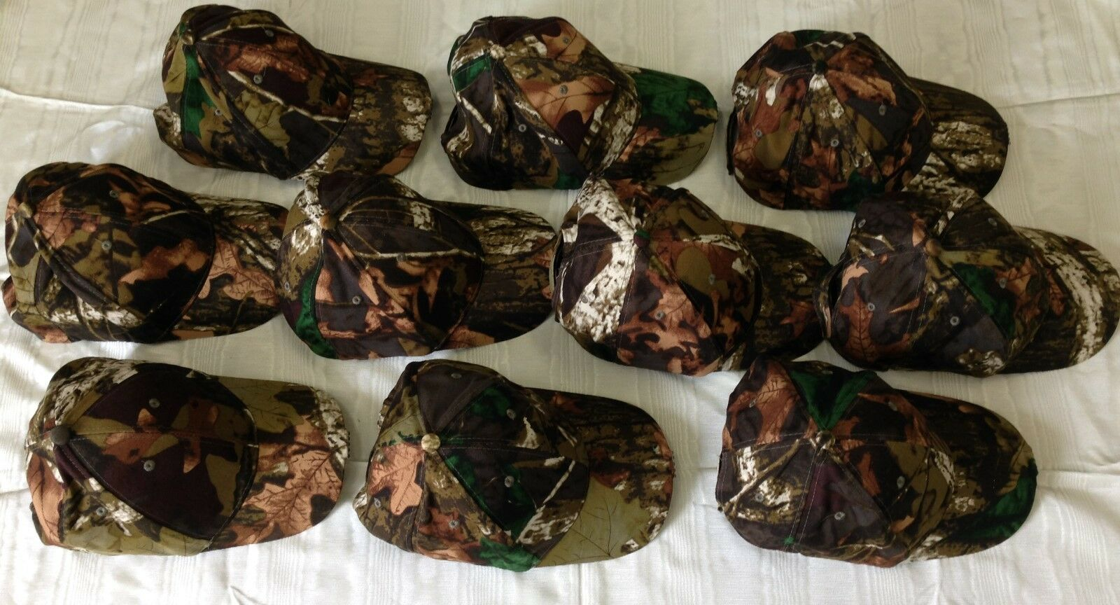 10 pcs 5 LED Lighted Camouflage Cap  For All Outdoor Activites