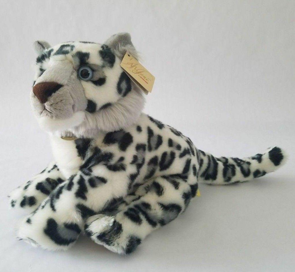 Brand New Rare Retirosso Aurora Miyoni Snow Leopard Stuffed Plush Fast Shipping