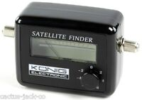 SATELLITE METER SAT SIGNAL FINDER SATFINDER+ 1M LEAD