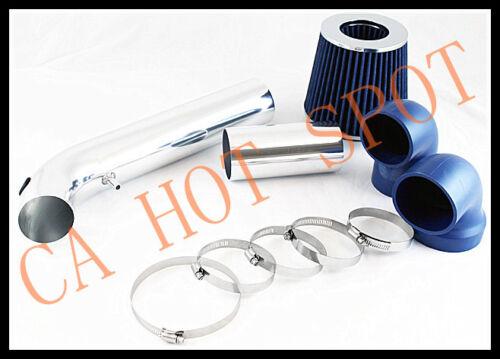 95-97 Camaro//Firebird V6 3.8 COLD AIR INTAKE SYSTEM w// FILTER BLUE